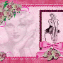 pink pin up girl