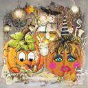 Party Pumpkin Pair