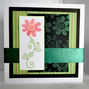 Stitched Flowers Card