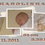 birth certificate Karolínka