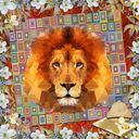 Lion _ Geometric Shapes