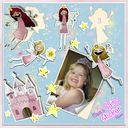 Fairy Sticker Album