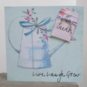 Watering Can and Seeds Card