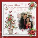 Veronica Rose First Christmas