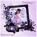 Precious Pink and Purple