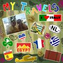 My Travel Sticker Page
