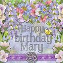 Birthday card for Mary v1